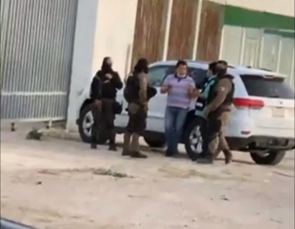 Lorenzo N fue detenido por elementos de la policía del estado