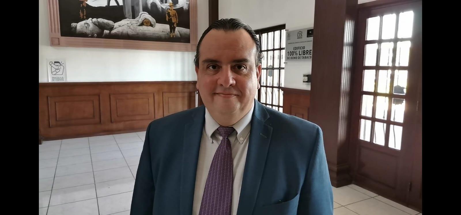 Alberto Boardman, director de comunicación del Congreso del Estado