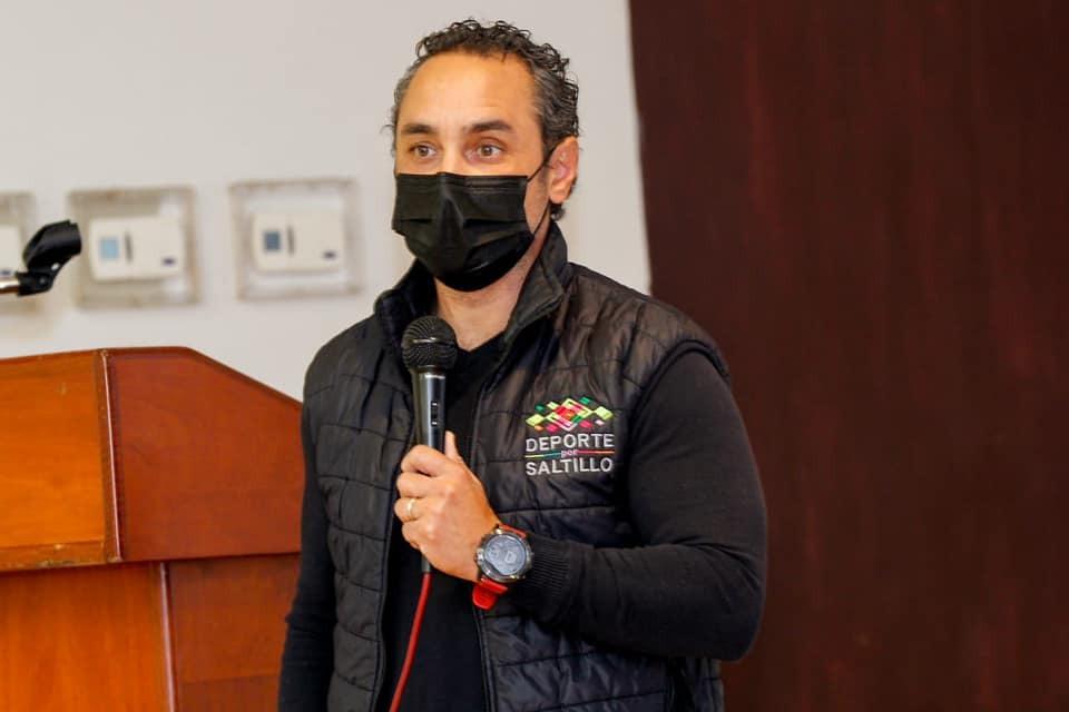 Antonio Cepeda, director del Deporte municipal en Saltillo