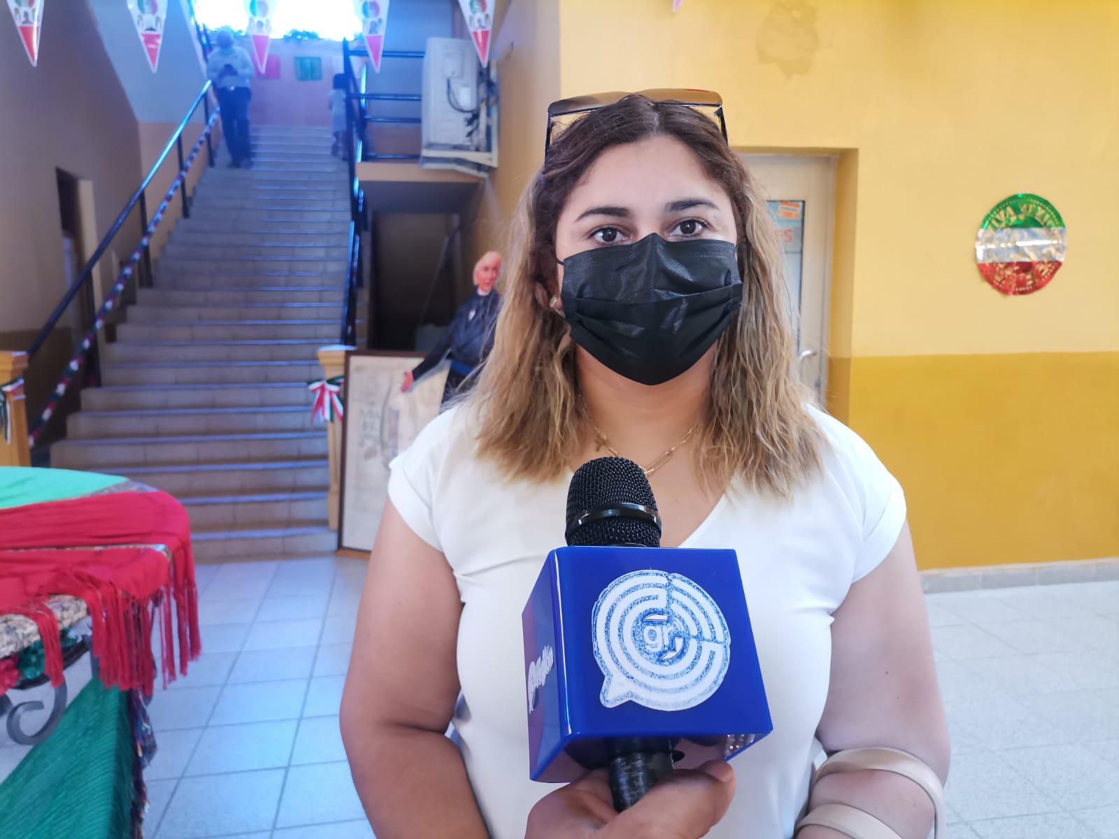 Claudia Andrade, presidenta del patronato de Damas Voluntarias de la Cruz Roja Sabinas
