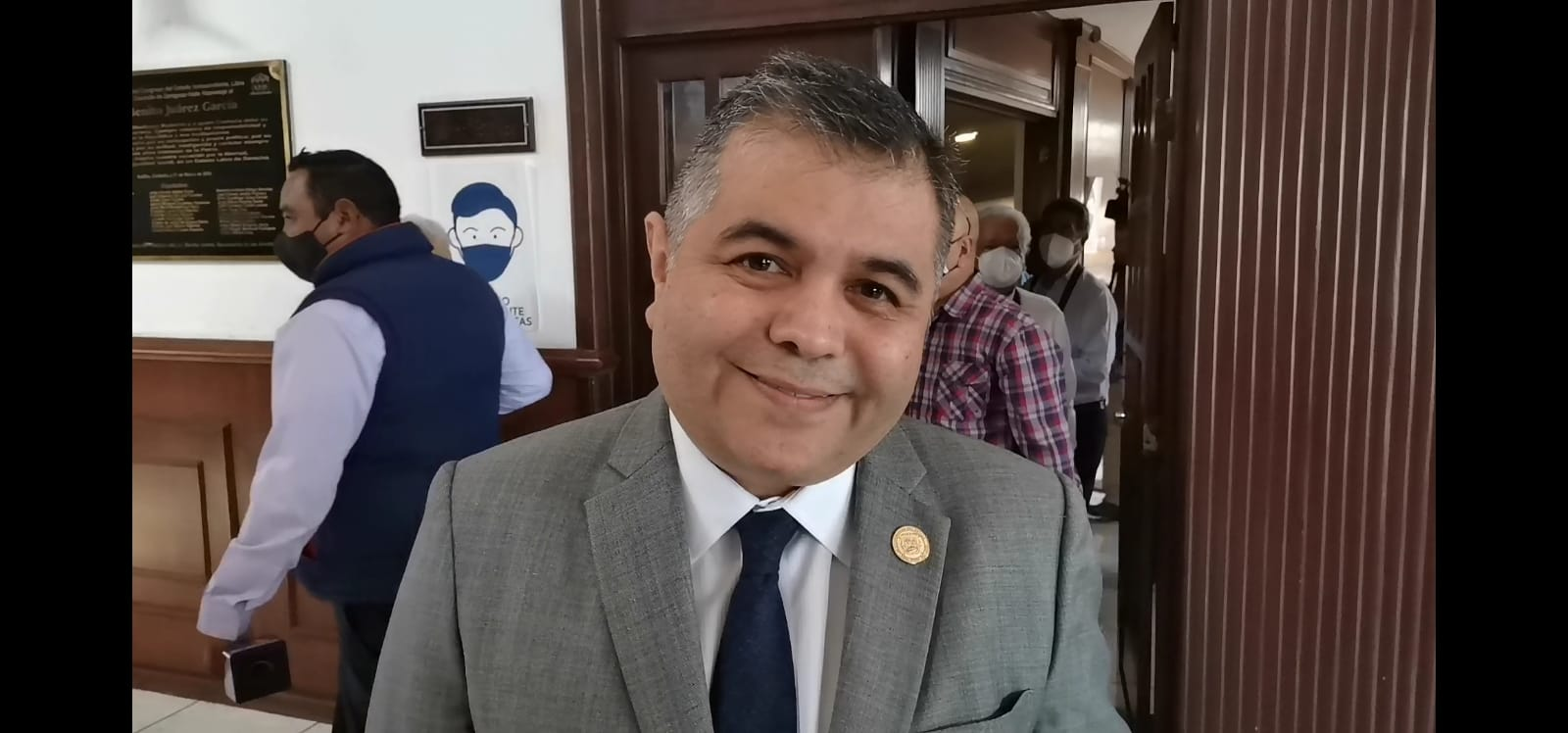 Eduardo Olmos, Presidente de la Junta de Gobierno del Congreso