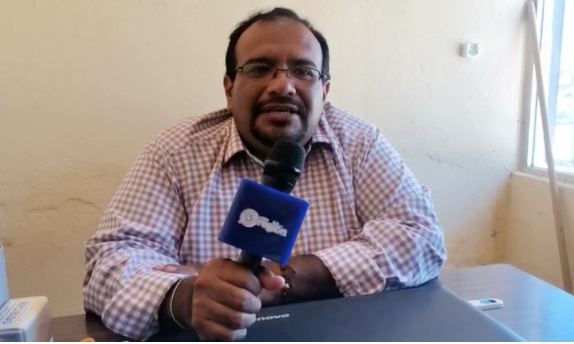 Ramiro de León, coordinador de transporte municipal en Sabinas