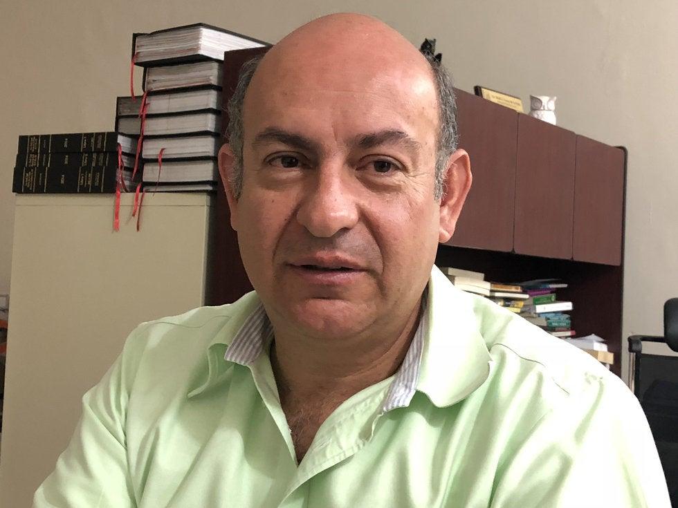 Raúl Garza de la Peña, secretario general de la Unión de Organismos Empresariales de Saltillo