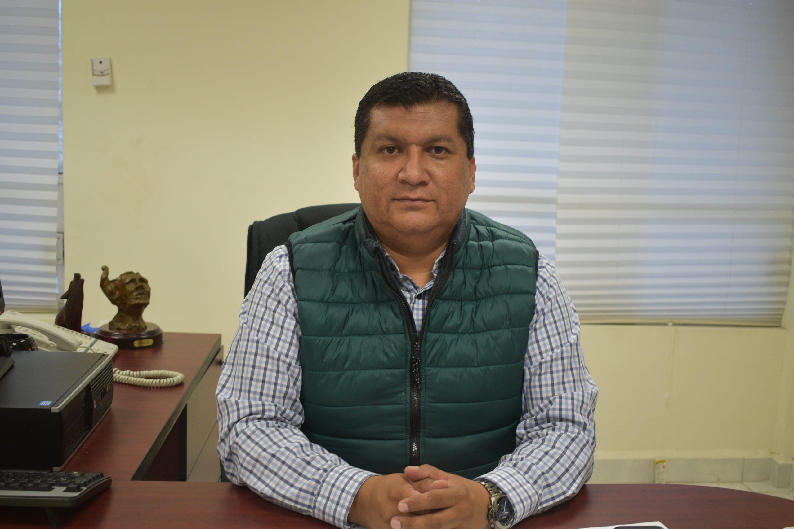 Rodrigo Cháirez, delegado de la FGE en la Región Centro
